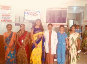 Camp at Prashamsa Hospital 4