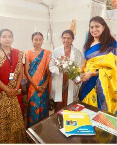 Camp at Prashamsa Hospital 2